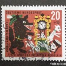 Sellos: ALEMANIA 1963. YT:DE 282,. Lote 244952150