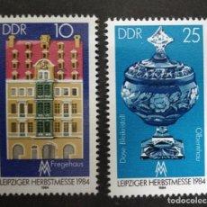 Sellos: ALEMANIA DDR 1984. ***MNH. LEIPZIG AUTUMN FAIR 1984. Lote 246010265
