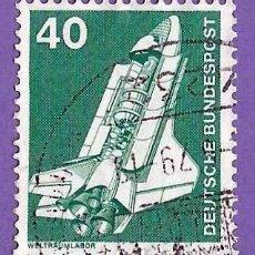 Sellos: ALEMANIA. 1975. TRANSBORDADOR ESPACIAL. Lote 246034320