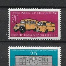 Sellos: DDR 1960 MICHEL 789/790 ** MNH - 4/10. Lote 246036065