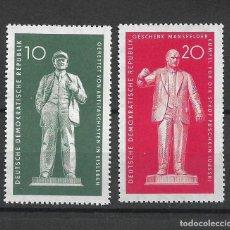 Sellos: DDR 1960 MICHEL 772/773 ** MNH - 4/10. Lote 246036580