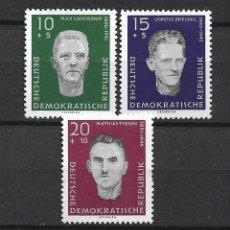 Sellos: DDR 1960 MICHEL 765/767 ** MNH - 4/10. Lote 246036660