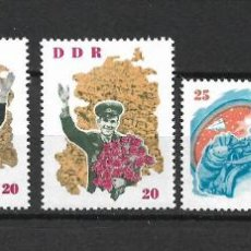 Sellos: DDR 1963 MICHEL 993/996 + 997 ** MNH - 4/18. Lote 246250520