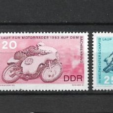 Sellos: DDR 1963 MICHEL 972/974 ** MNH - 4/18. Lote 246250870