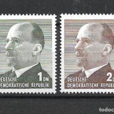 Sellos: DDR 1963 MICHEL 968/969 ** MNH - 4/17. Lote 246251070