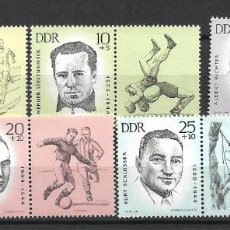 Sellos: DDR 1963 MICHEL 958/962 ** MNH - 4/17. Lote 246251180