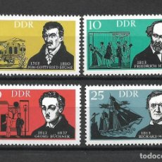 Sellos: DDR 1963 MICHEL 952/955 ** MNH - 4/17. Lote 246251390