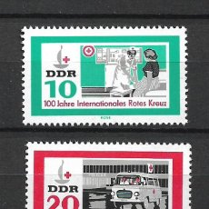 Sellos: DDR 1963 MICHEL 956/957 ** MNH - 4/17. Lote 246251690