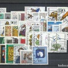 Timbres: ALEMANIA FEDERAL - 1981 - MICHEL 1082/1117 - USADO (AÑO COMPLETO) (VALOR DE CATALOGO.- 22.00€). Lote 248690730