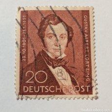 Sellos: BERLIN ALEMANIA 1951 LORTZING. Lote 249053300