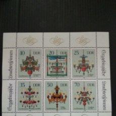 Sellos: ALEMANIA DDR MINIPLIEGO Nº 3289/94 DE MICHEL NUEVO. Lote 251531020