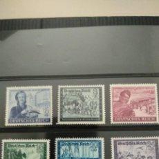 Selos: ALEMANIA DEUTSCHES REICH Nº 888/93 DE MICHEL NUEVOS SIN GOMA. Lote 251859330