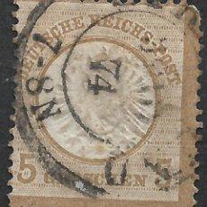 Sellos: IMPERIO ALEMÁN 1872 IM. NR. 22 GESTEMPEL - 2/1. Lote 252231300
