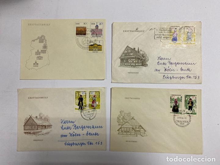 Sellos: LOTE DE 172 SOBRES PRIMER DIA DE ALEMANIA. REPUBLICA DEMOCRATICA ALEMANA. VER FOTOS - Foto 11 - 252928360