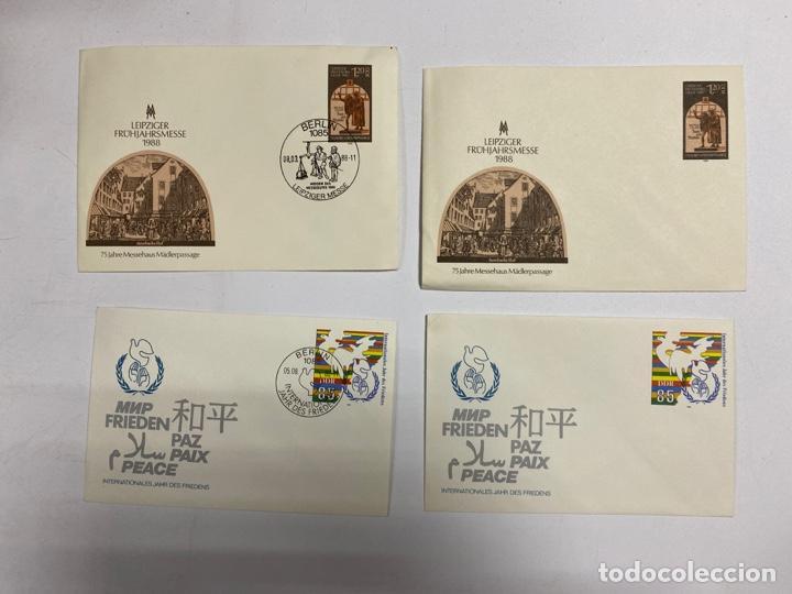 Sellos: LOTE DE 172 SOBRES PRIMER DIA DE ALEMANIA. REPUBLICA DEMOCRATICA ALEMANA. VER FOTOS - Foto 21 - 252928360