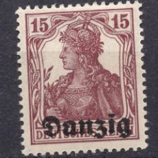 Timbres: DANZIG, CIUDAD LIBRE , 1920, MICHEL 3 MNH. Lote 254486170
