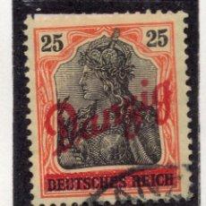 Timbres: DANZIG, CIUDAD LIBRE , 1920, MICHEL 24, USED. Lote 254523470