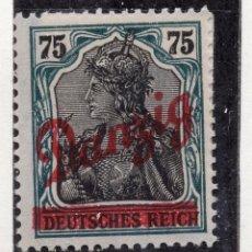 Timbres: DANZIG, CIUDAD LIBRE , 1920, MICHEL 25, MNH. Lote 254523545
