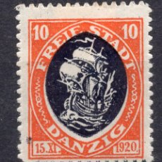 Timbres: DANZIG, CIUDAD LIBRE , 1921, MICHEL 54, MNH. Lote 254555635