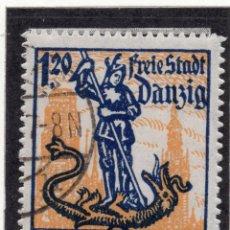 Timbres: DANZIG, CIUDAD LIBRE , 1921, MICHEL 92, USED. Lote 254557670