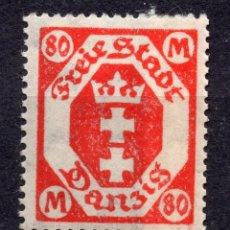 Timbres: DANZIG, CIUDAD LIBRE , 1922, MICHEL 140, MNH. Lote 254606180