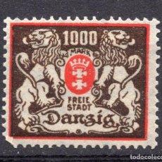 Timbres: DANZIG, CIUDAD LIBRE , 1923, MICHEL 145, MNH. Lote 254624370