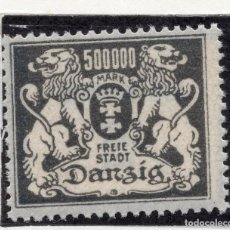 Timbres: DANZIG, CIUDAD LIBRE , 1923, MICHEL 157, MNH. Lote 254624955