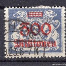 Timbres: DANZIG, CIUDAD LIBRE , 1923, MICHEL 175 , USED. Lote 254751100