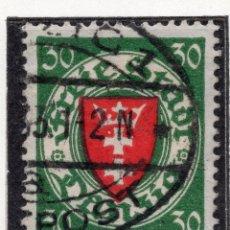 Timbres: DANZIG, CIUDAD LIBRE , 1924, MICHEL 198XA, USED. Lote 254773030