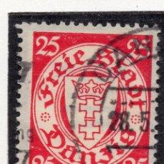 Timbres: DANZIG, CIUDAD LIBRE , 1935, MICHEL 246, USED. Lote 254801655