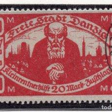 Timbres: DANZIG, CIUDAD LIBRE , 1923, MICHEL 131X, USED. Lote 254807195