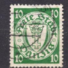 Timbres: DANZIG, CIUDAD LIBRE , 1922, MICHEL 103, USED. Lote 254987140