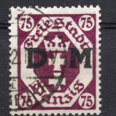 Timbres: DANZIG, CIUDAD LIBRE , 1922, MICHEL D15, USED. Lote 254987500