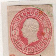 Sellos: ALEMANIA, ESTADOS ALEMANES, HANNOVER, 1861 , CORREO PRIVADO MICHEL ,S/N. Lote 255329165