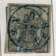 Sellos: ALEMANIA, ESTADOS ALEMANES, HANNOVER, 1851 , MICHEL ,2A. Lote 255329295