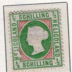 Sellos: ALEMANIA, ESTADOS ALEMANES, HGELIGOLAND, 1869 , MICHEL ,6XC. Lote 255329795