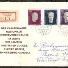 Sellos: ALEMANIA DDR.1957. MI 606/608. Lote 255531010