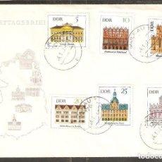 Sellos: ALEMANIA DDR. 1967 SPD. YT 942/47. EDIFICIOS.. Lote 255531150