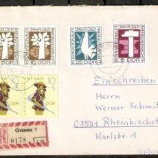 Sellos: ALEMANIA DDR.1968. MI 1368/70, 1371. Lote 255532080