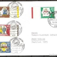 Sellos: ALEMANIA FEDERAL.1967. MI 523/526. Lote 255532370
