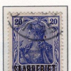 Sellos: ALEMANIA, SARRE, 1920 MICHEL 35. Lote 255540980