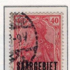 Sellos: ALEMANIA, SARRE, 1920 MICHEL 37. Lote 255541005