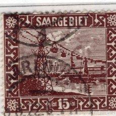 Sellos: ALEMANIA, SARRE, 1922 MICHEL 87. Lote 255541085