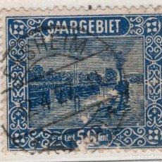 Sellos: ALEMANIA, SARRE, 1922 MICHEL 92. Lote 255541110