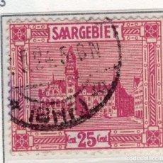 Sellos: ALEMANIA, SARRE, 1923 MICHEL 100. Lote 255541145