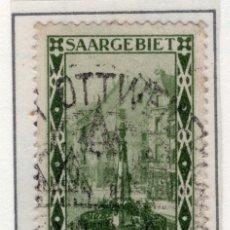 Sellos: ALEMANIA, SARRE, 1927 MICHEL 112. Lote 255541185