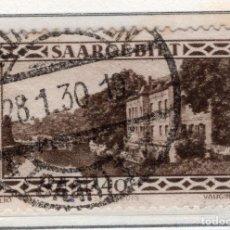 Sellos: ALEMANIA, SARRE, 1927 MICHEL 113. Lote 255541210