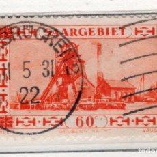Sellos: ALEMANIA, SARRE, 1930 MICHEL 143. Lote 255541275