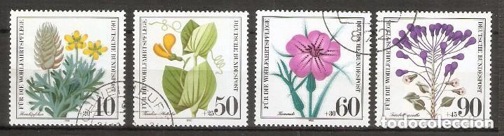 ALEMANIA FEDERAL. 1980. YV. Nº 905/8 (Sellos - Extranjero - Europa - Alemania)