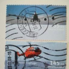 Sellos: REPUBLICA FEDERAL ALEMANA .- AÑO 2008 YT 2499 Y 2500. Lote 257519735